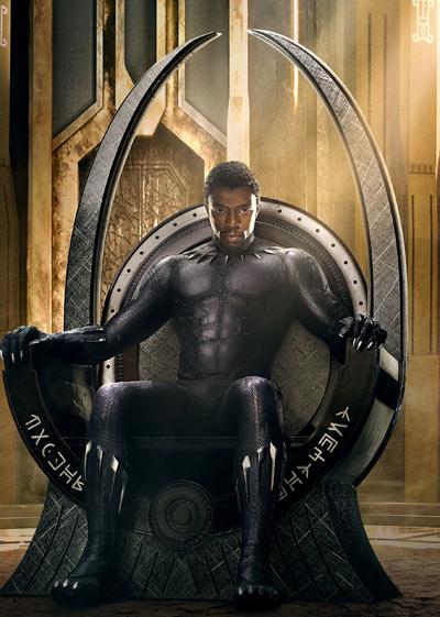 Chadwick Boseman đảm nhận vai chính Black Panther - Hoàng tử TChalla.