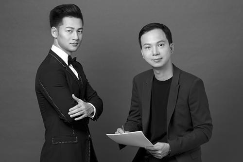 Trần Lê Quỳnh và Đức Tuấn trong album mới.