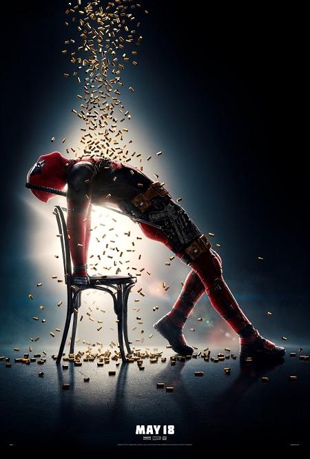 Poster kỳ quặc của Deadpool 2.