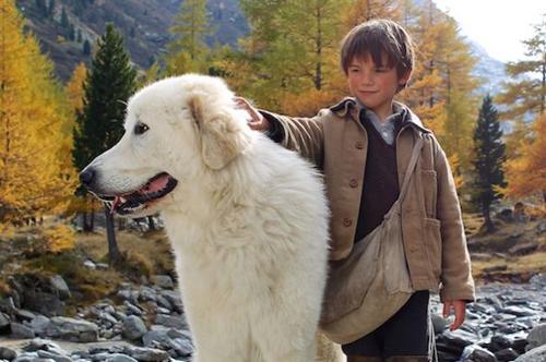 Hai nhân vật chính trong Belle và Sebastian: Tình bạn bất diệt.
