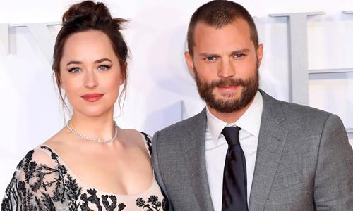 Dakota Johnson và Jamie Dornan đóng phim có nhiều cảnh nóng cùng nhau từ năm 2015.