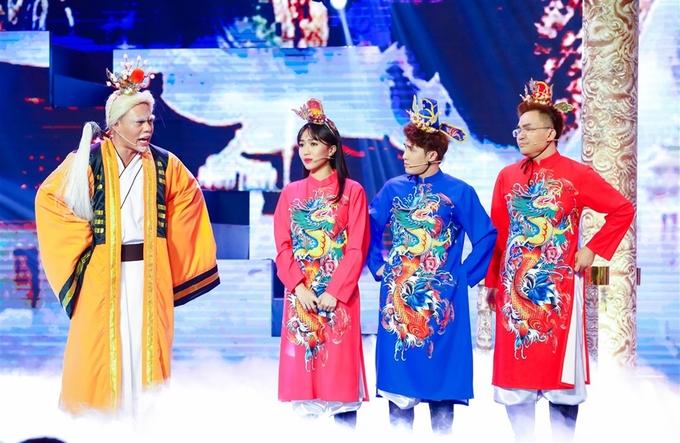 Đàm Vĩnh Hưng, Cẩm Ly đóng vai Ngọc Hoàng, Thiên Hậu