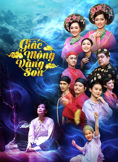 Dàn diễn viên tham gia vở kịch Tết Giấc mộng vàng son.