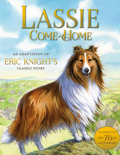 Trang bìa cuốn Lassi come home.