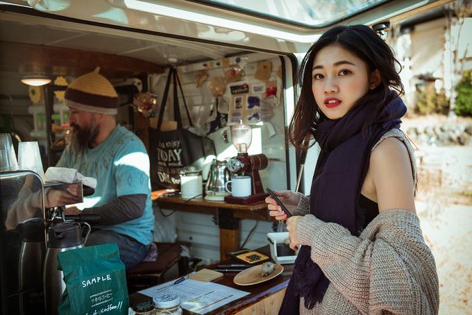 Á hậu Thanh Tú du lịch cố đô Nhật Bản