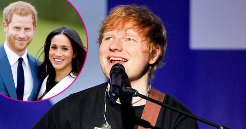 Ed Sheeran từng gặp Hoàng tử Harry một lần vào năm 2011.