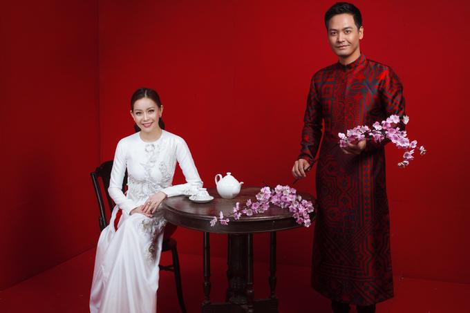 MC Phan Anh, Hoa hậu Hải Dương mặc áo dài đón Tết