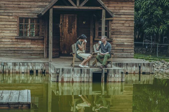 Kyo York, Á hậu Thanh Tú hóa ông bà cụ trong bộ ảnh