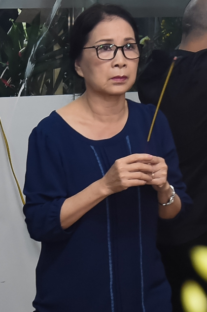 NSƯT Kim Xuân ở lại rất lâu