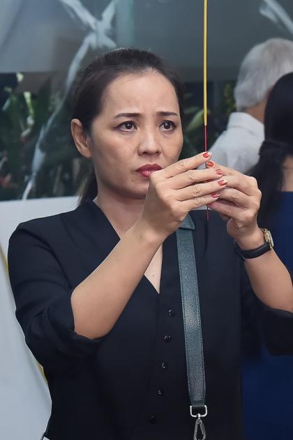 Diễn viên Thu An là một trong những người được Nguyễn Hậu đỡ đầu.