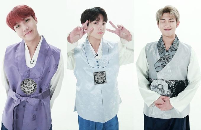 Dàn sao Hàn Quốc diện hanbok chào năm mới Mậu Tuất