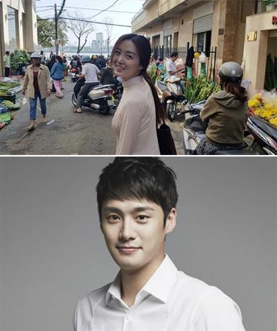 Oh Sang Jin - Kim So Young du lịch Việt Nam nhân kỳ nghỉ Tết.