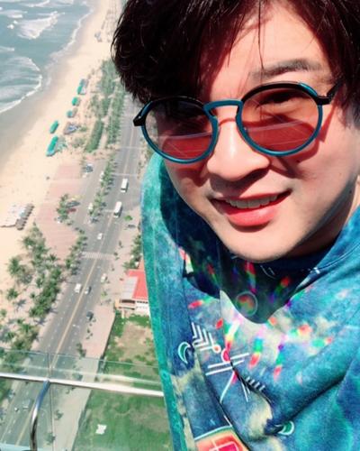 Shin Dong tới Đà Nẵng nghỉ dưỡng dịp Tết Âm lịch.