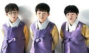 Con sinh ba của sao 'Truyền thuyết Jumong' gây sốt với màn chúc năm mới