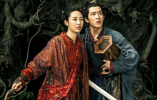 Hai diễn viên chính trong phim.