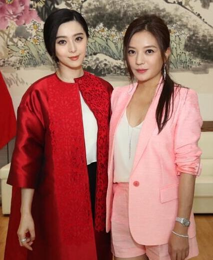 Phạm Băng Băng (trái) và Triệu Vy.