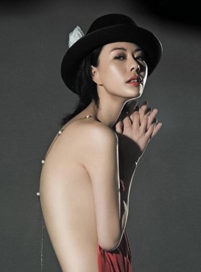 Thiều Tiểu San từng đóng những cảnh khỏa thân trong phim Dạ yến.