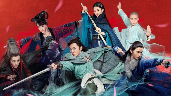 Lệnh Hồ Xung tung võ công trong 'Tiếu ngạo giang hồ' 2018