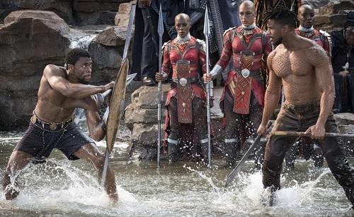 Một cảnh chiến đấu trong phim.