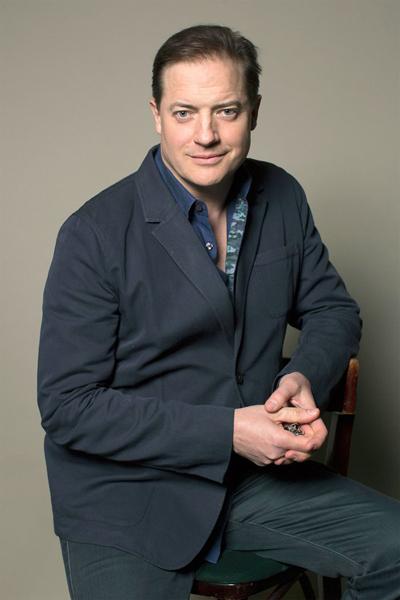 Diễn viên Brendan Fraser.