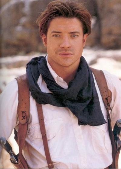 Tài tử 49 tuổi khi còn đóng The Mummy năm 1999.