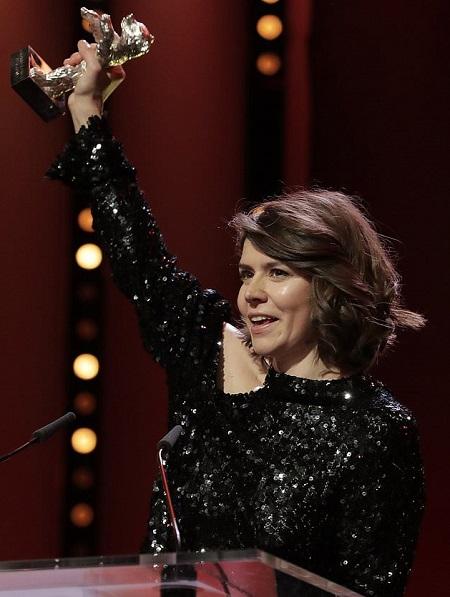 Małgorzata Szumowska ở đêm trao giải.