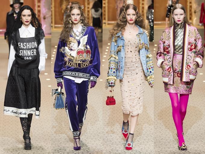 Dolce & Gabbana dùng máy bay không người lái thay người mẫu