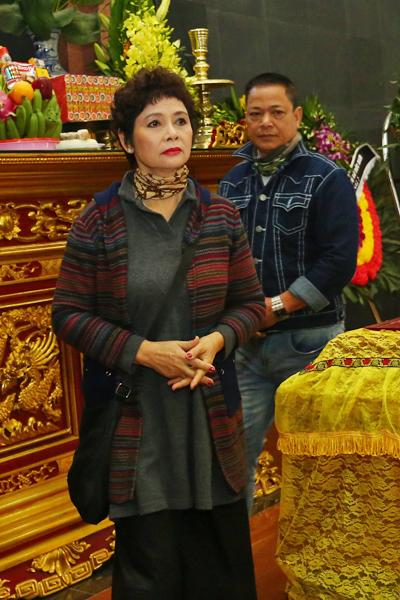 NSƯT Minh Châu thương tiếc trước sự ra đi của cố diễn viên Tuệ Minh.
