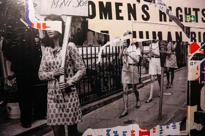 Show Dior lấy cảm hứng từ cuộc biểu tình thập niên 1960