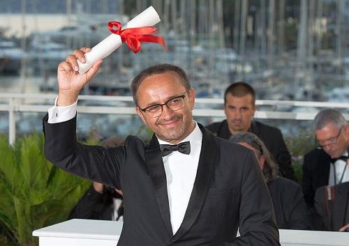 Andrey Zvyagintsev ăn mừng ở Liên hoan phim Cannes (Pháp).