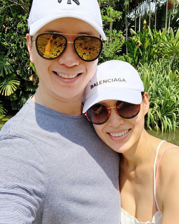 Hồ Hạnh Nhi 'trốn' con, hẹn hò chồng ở Thái Lan