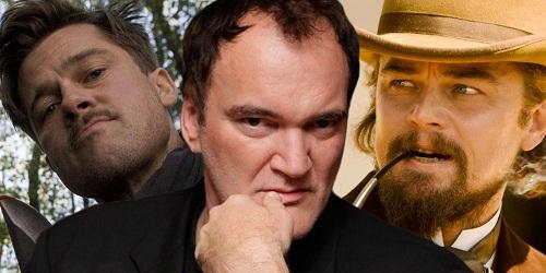Tarantino (giữa) sẽ là người kết nối hai diễn viên hàng đầu.