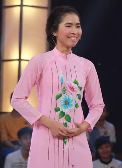 Nữ sinh Kim Hoàng là người đầu tiên đoạt 150 triệu đồng ở mùa bốn.