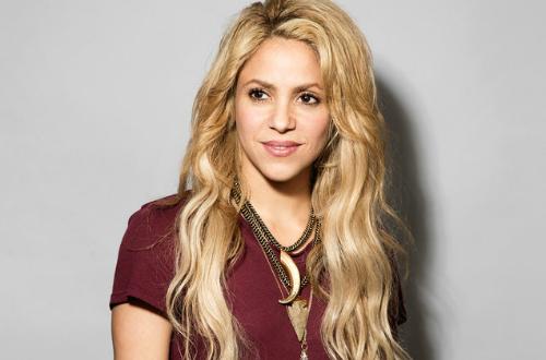Nữ ca sĩ Shakira.