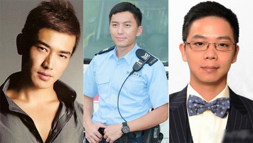 Ba tài tử Huỳnh Trường Hưng, Viên Vỹ Hào và Lâm Tử Thiện (từ trái sang).