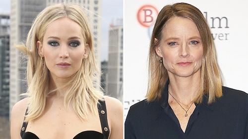 Jennifer Lawrence và Jodie Foster.