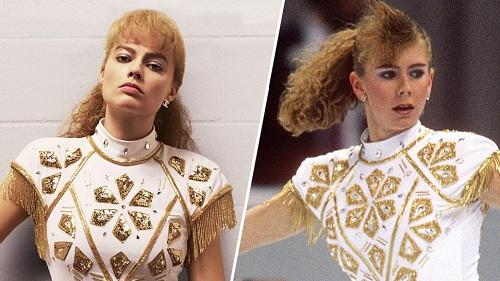 Margot Robbie (trái)và Tonya Harding.