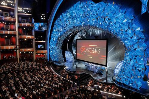 Sân khấu lộng lẫy của Oscar lần thứ 90.