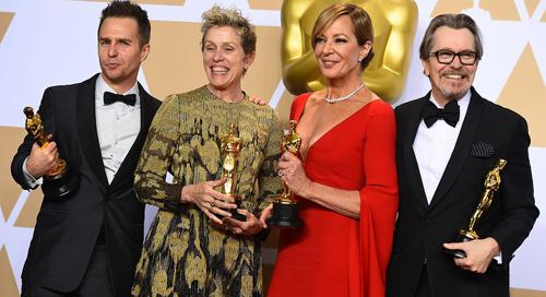 Các diễn viên thắng giải Nam - Nữ phụ xuất sắc năm nay.