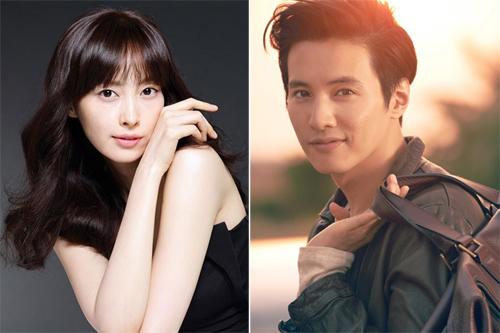 Vợ chồng Won Bin - Lee Na Young.