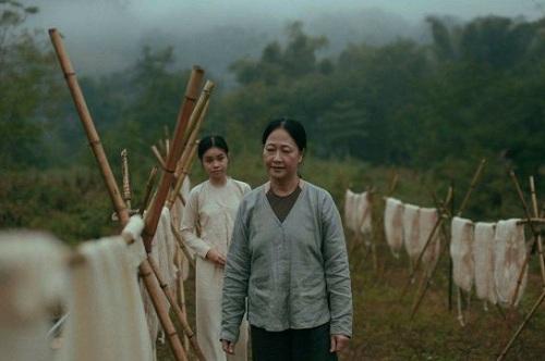 Trà My và nghệ sĩ Như Quỳnh trong phim.