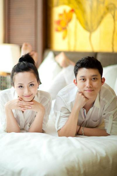 Vợ chồng trưởng nhóm OPlus - Nguyễn Quang Minh và Quỳnh Trang.