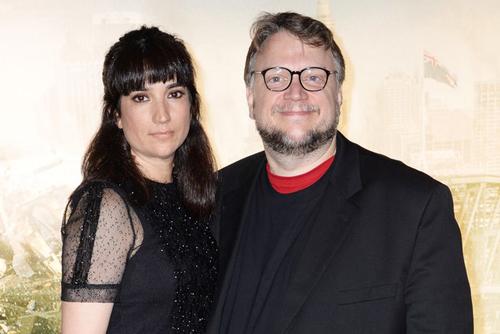 Guillermo del Toro và vợ khi còn bên nhau.