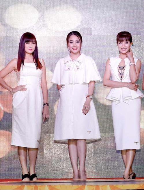 Á hậu Băng Châu để lại ấn tượng tại sự kiện ra mắt Phụ nữ quyền năng - 2