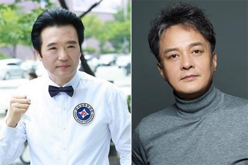 Jo Seong Gyu và người bạn quá cố - Jo Min Ki (phải).