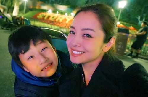 Bảo Nam trông chững chạc dù mới chín tuổi.