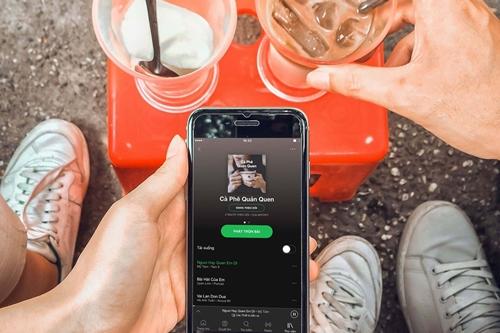 Spotify muốn thay đổi thói quen nghe nhạc của người Việt thông qua các play-list.