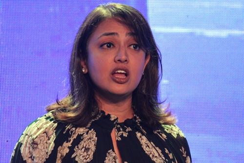 Bà Sunita Kaur, giám đốc điều hành Spotify khu vực châu Á tại sự kiện sáng 13/3.