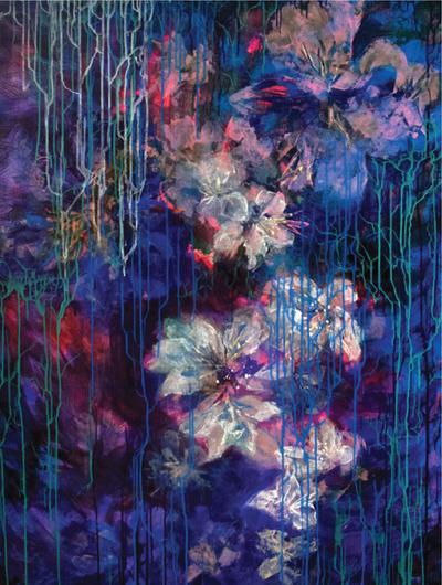 Tranh của họa sĩ Đài Trang.