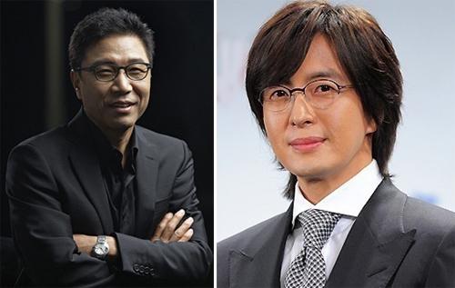 Trùm ngành công nghiệp giải trí Hàn Quốc Lee Soo Man mua công ty của Bae Yong Joong.